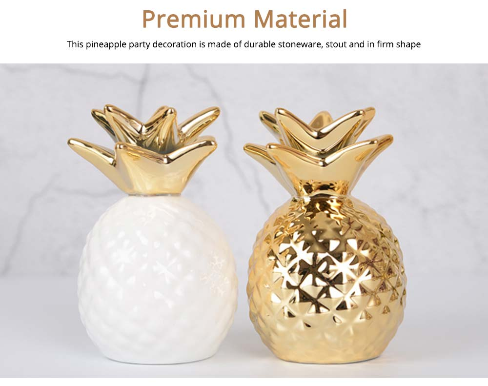 Pineapple Ceramic Piggy Bank Money Cans for Birthday Gifts, Party, Graduation Ceremony 5