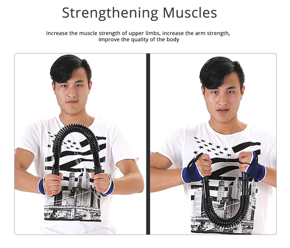 Men's Power Trister Bar, Arm & Chest Builder, Arm Strength Trainer Exerciser, 20~60KG 4