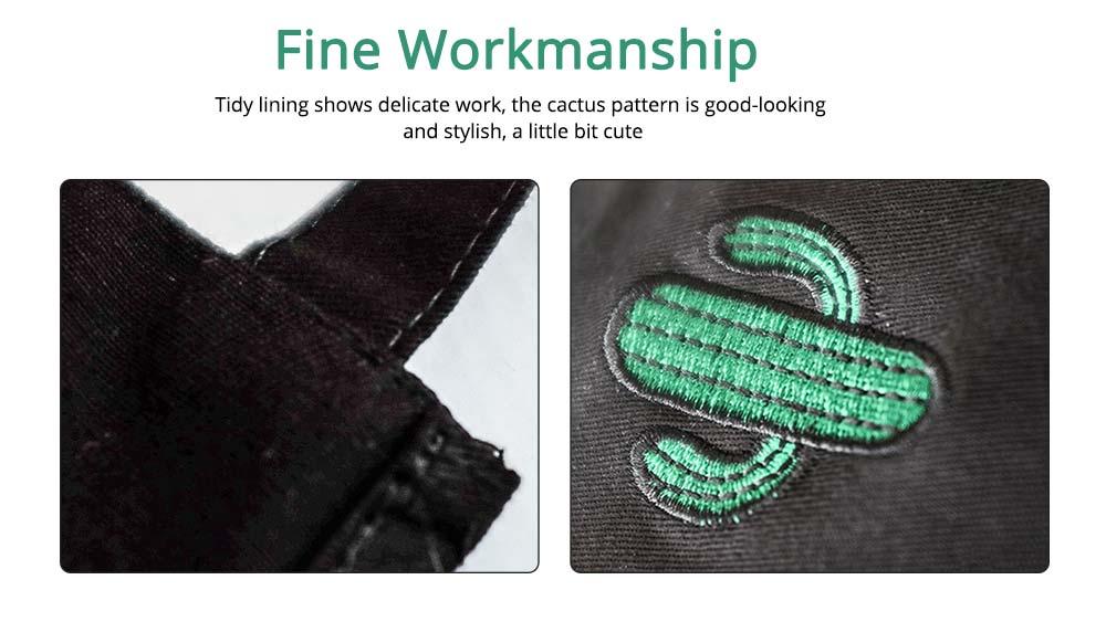 Nordic Style Sleeveless Cotton Apron, Innovative Black Bib for Kitchen & Garden 3