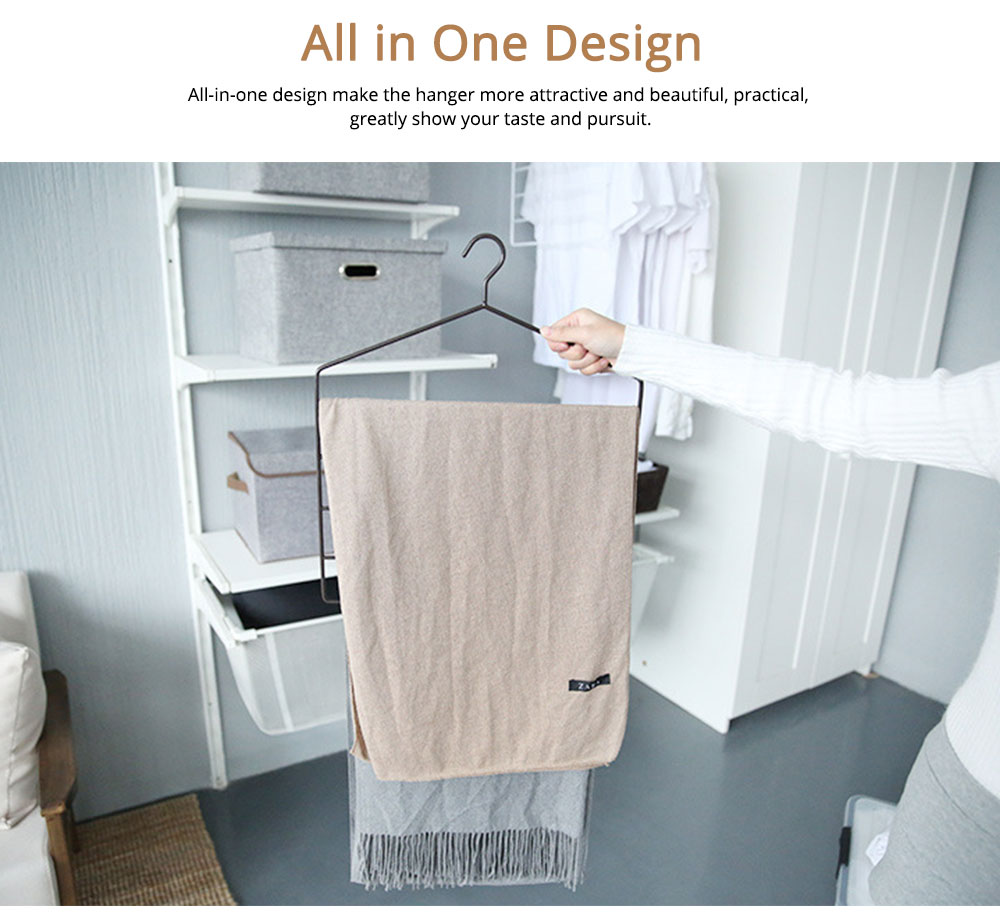 Multifunctional Pant Hanger with multiple layer, Innovative Clothes Rack for Domestic Use 5