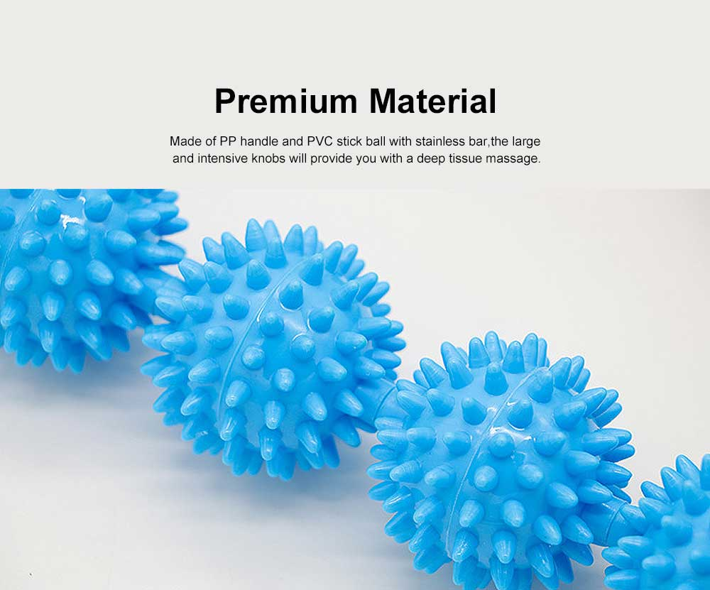 Muscle Roller Massage Stick, Prick Ball Massage Stick For Muscle Relaxation 1