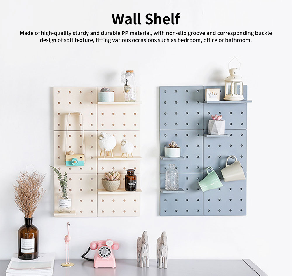 Wall Mounted Bathroom Storage Racks, Wide Range Wall Storage Shelves 0
