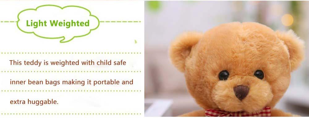 Teddy Bear Plush Toy, Girls Children Birthday Gift, Company Wedding Gift Doll 7