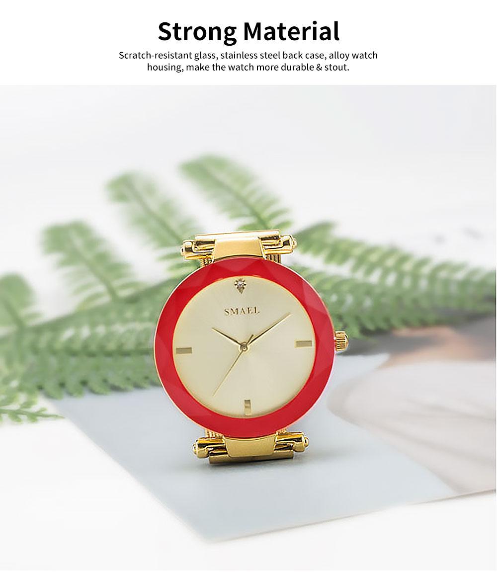 Women's New Fashionable Quartz Watch Korean Style Metal Strap Watch 2