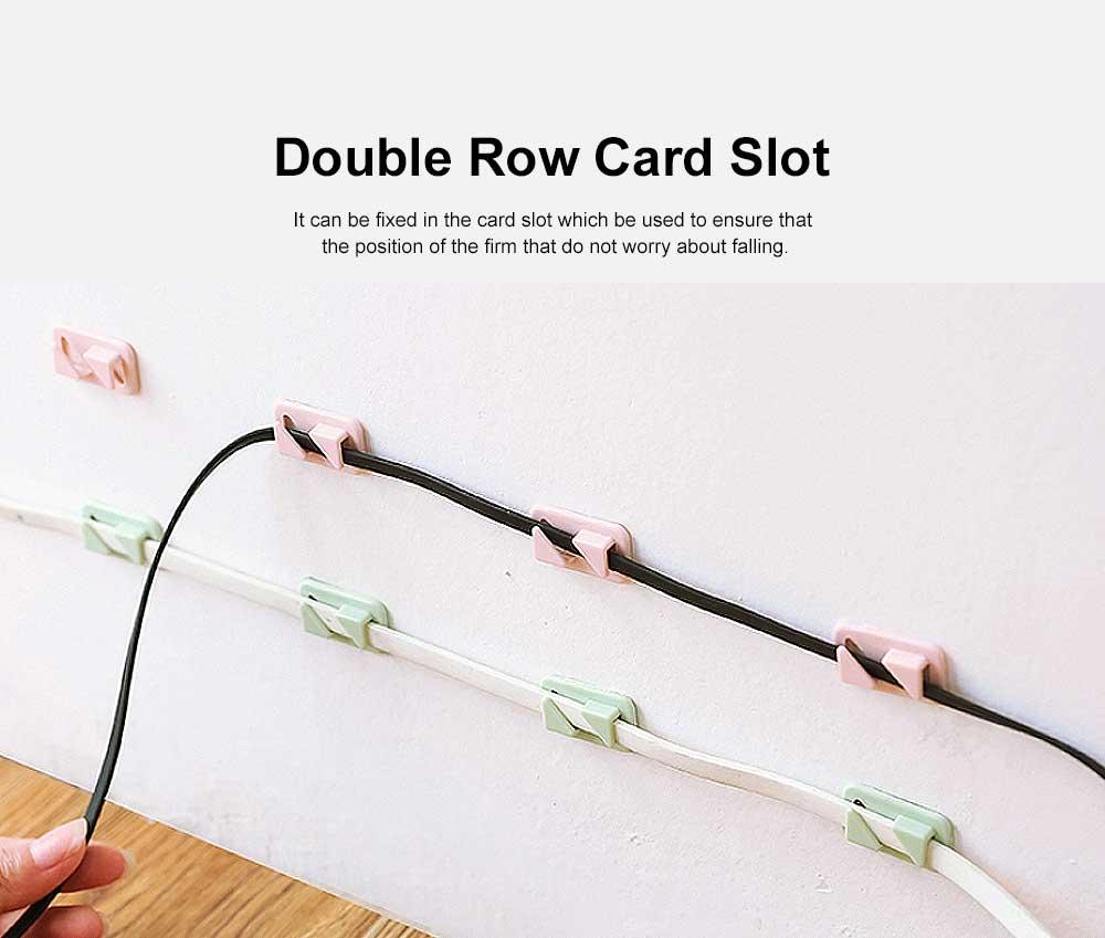 Punch Free Paste Line Divider, 24 Wire Holder Organizer Clips 3