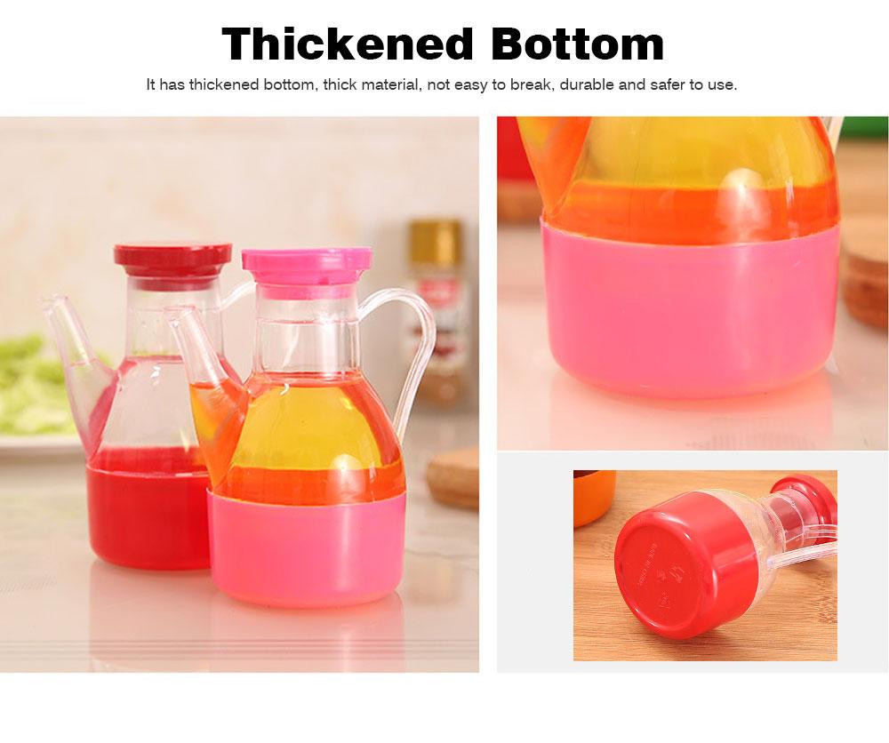 Acrylic Small Oil Pot, Leak-proof Color Oil Pot for Putting Soy, Sauce, Sesame Oil 3