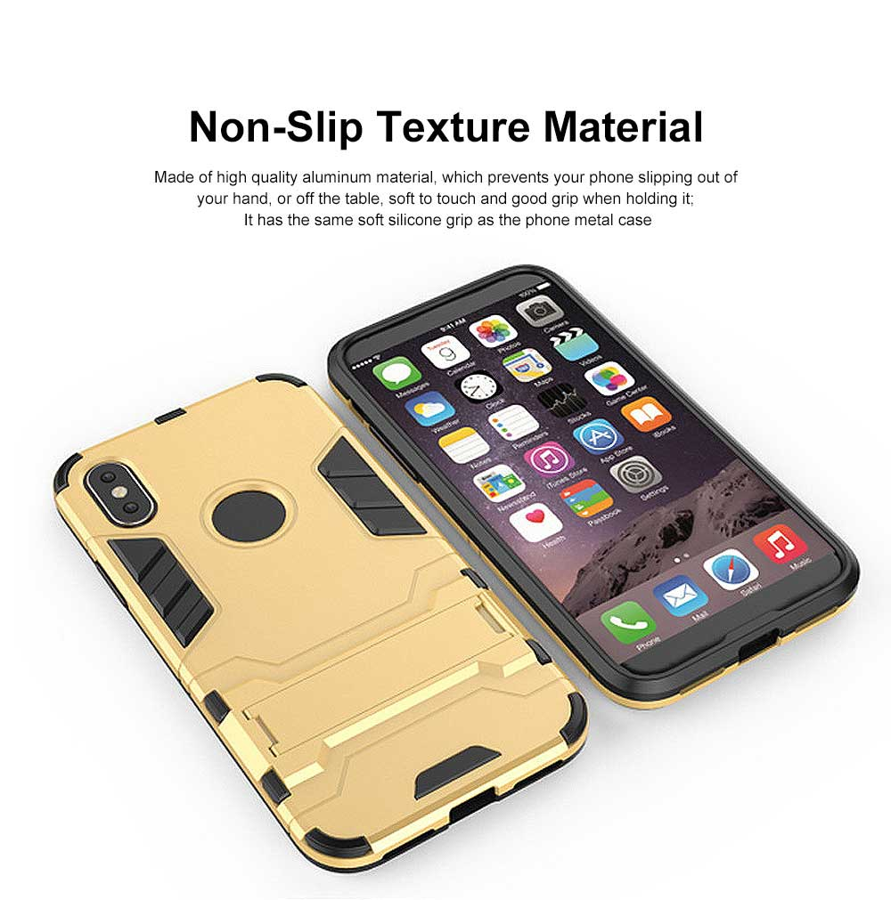 Iron Man Armor Phone Case for All iPhone, Anti-fall Phone Protective Shell with Panther Design 2