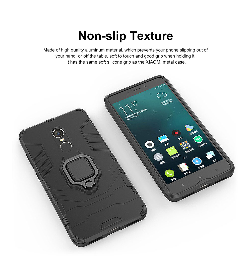 Phone Case With Ring Grip, Anti-Fall Smart Phone Shell For XIAOMI 2