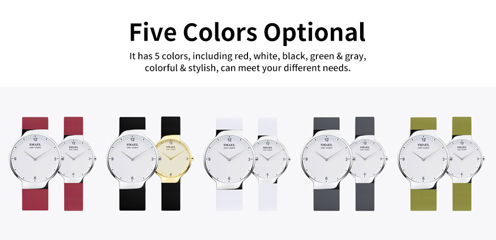Best Women's Casual Watches 2019 New Korean Style Quartz Watch With Silicone Strap 5