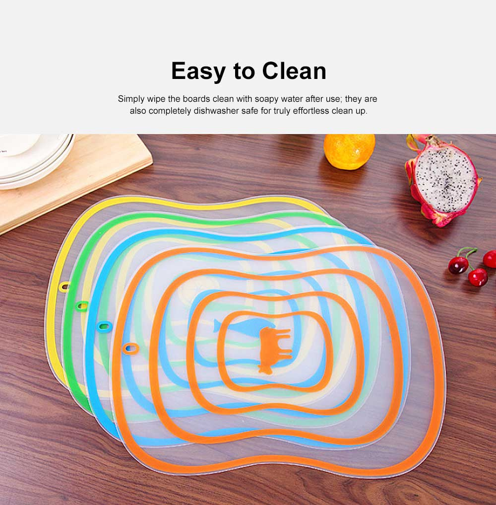 Baby Food Cutting Board, Plastic Cutting Boards For Cutting Vegetables, Fruit 5