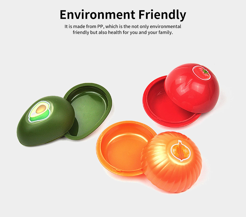 PP Food Preservation Boxes, Fruit and Vegetable Shaped Containers 1