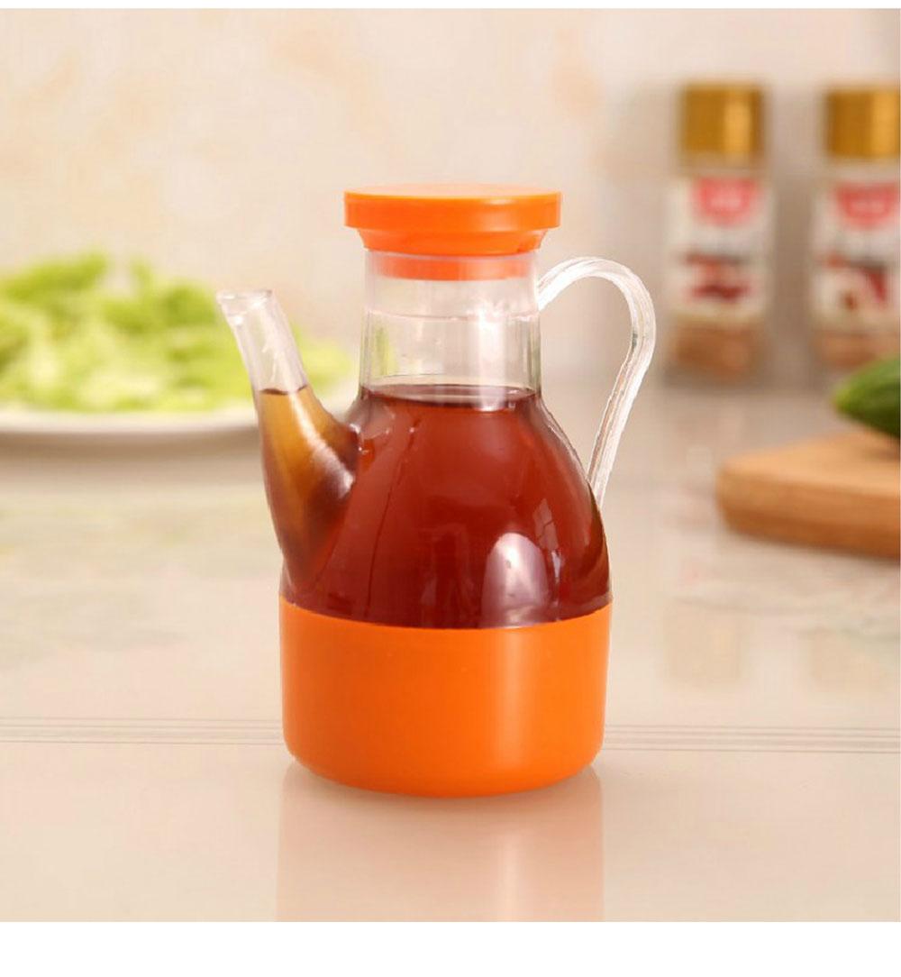 Acrylic Small Oil Pot, Leak-proof Color Oil Pot for Putting Soy, Sauce, Sesame Oil 2