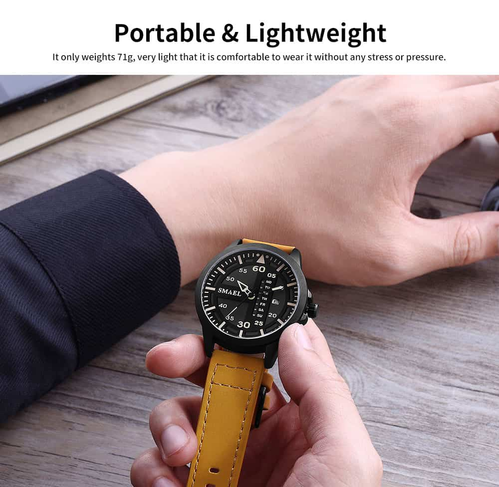 Men's Multifunctional Sport Watch, Fashionable Quartz Watch for Outdoor Use 5