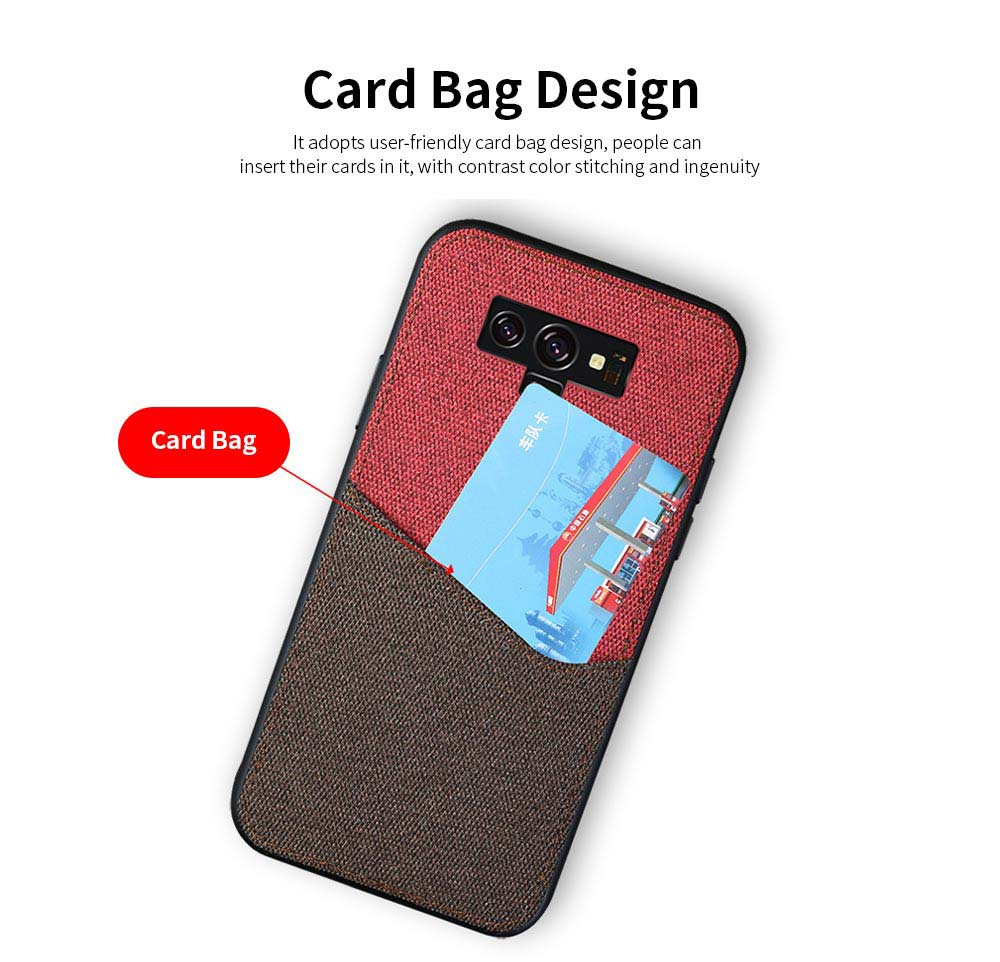 For Samsung Galaxy Note 9 Protective Case, Custom Shockproof Anti-fall Cloth Phone Shell Cover 3