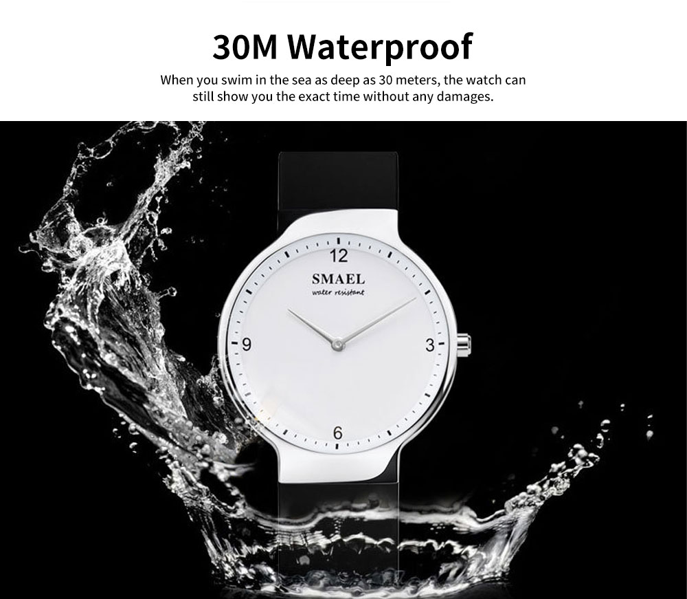 Best Women's Casual Watches 2019 New Korean Style Quartz Watch With Silicone Strap 3