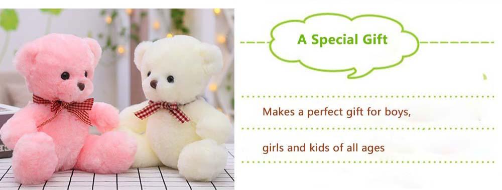 Teddy Bear Plush Toy, Girls Children Birthday Gift, Company Wedding Gift Doll 8