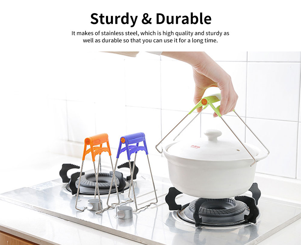Anti-scald  Dish Clamp Clip, Bowl Clip with 180 Degrees of Opening and Closing 1