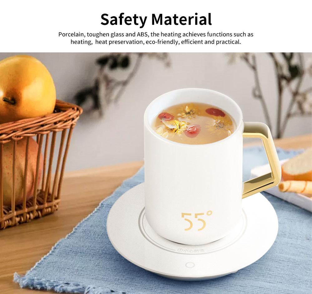 55 Degree Thermostatic Mug Heating Warmer for Hot Milk, Warm Tea, Warm Coffee, Warm Water 2