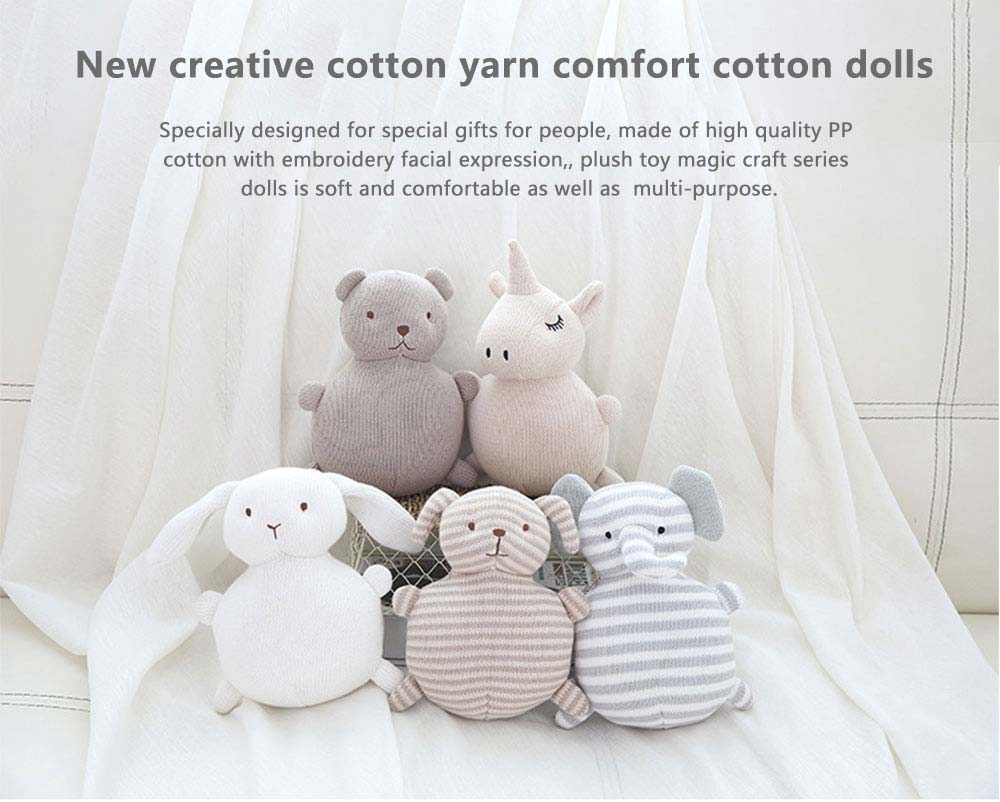 Ins New Creative Cotton Yarn Comfort Cotton Dolls For Baby Accompanying Sleeping 0