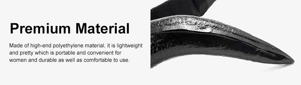 Black Horn Headband, Women Imitation Headband for Costume Accessory 1