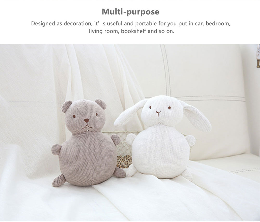 Ins New Creative Cotton Yarn Comfort Cotton Dolls For Baby Accompanying Sleeping 5