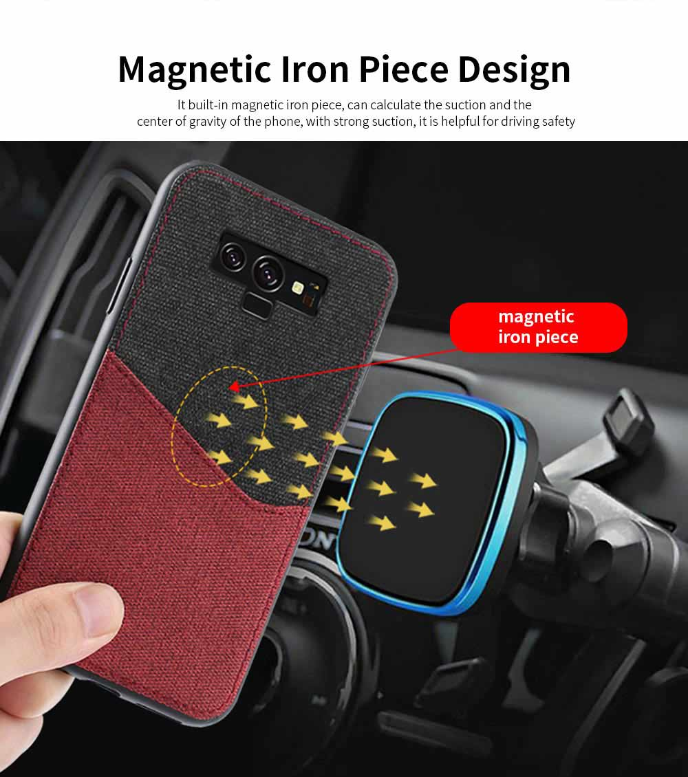 For Samsung Galaxy Note 9 Protective Case, Custom Shockproof Anti-fall Cloth Phone Shell Cover 1
