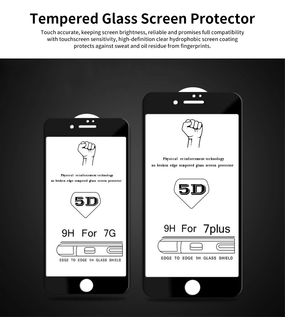 Tempered Glass Screen Protector for iPhone Full Screen Protect 0