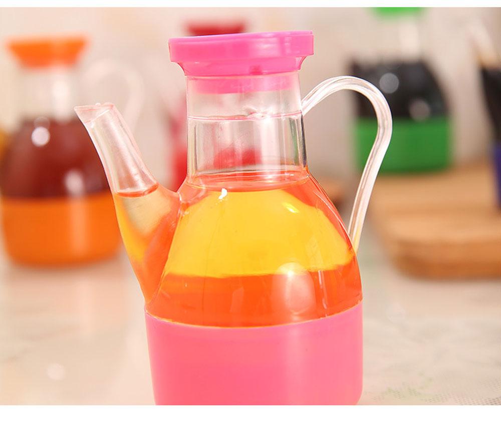 Acrylic Small Oil Pot, Leak-proof Color Oil Pot for Putting Soy, Sauce, Sesame Oil 8