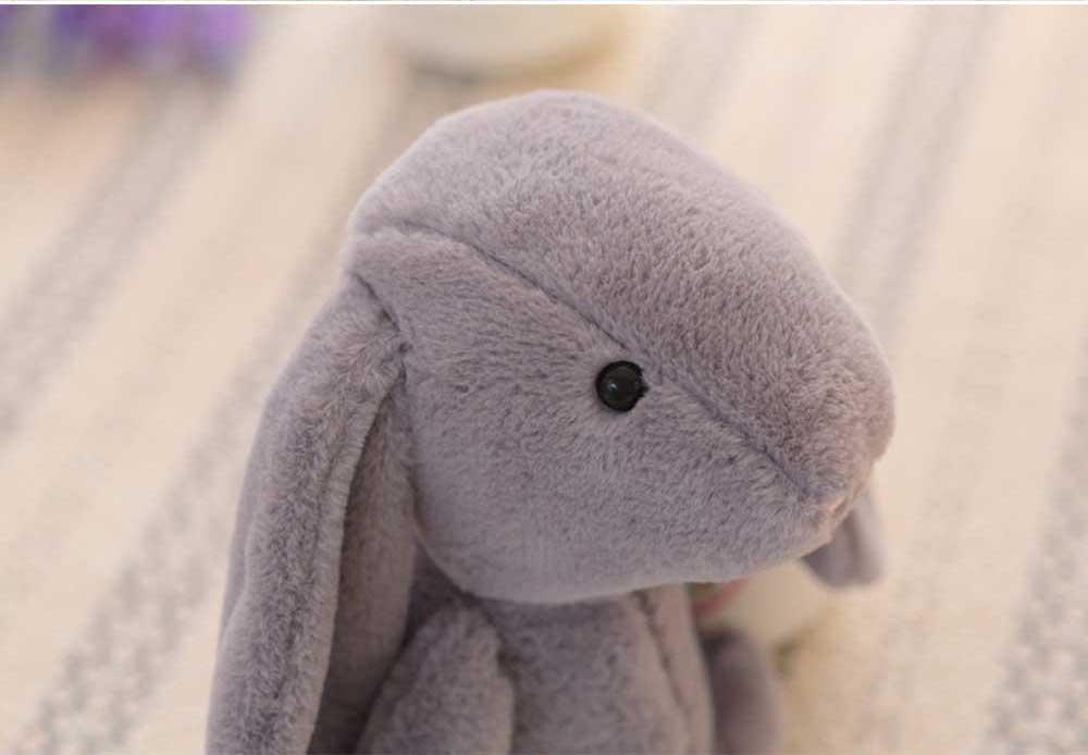 Elephant Stuffed Animal for Baby, Cute Rabbit Doll with Long Ears  7