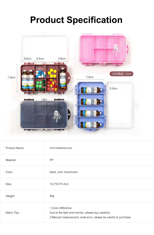 Plastic Liquid Bottle Storage Case Portable Double-Layer Travel Containers For Liquids 5