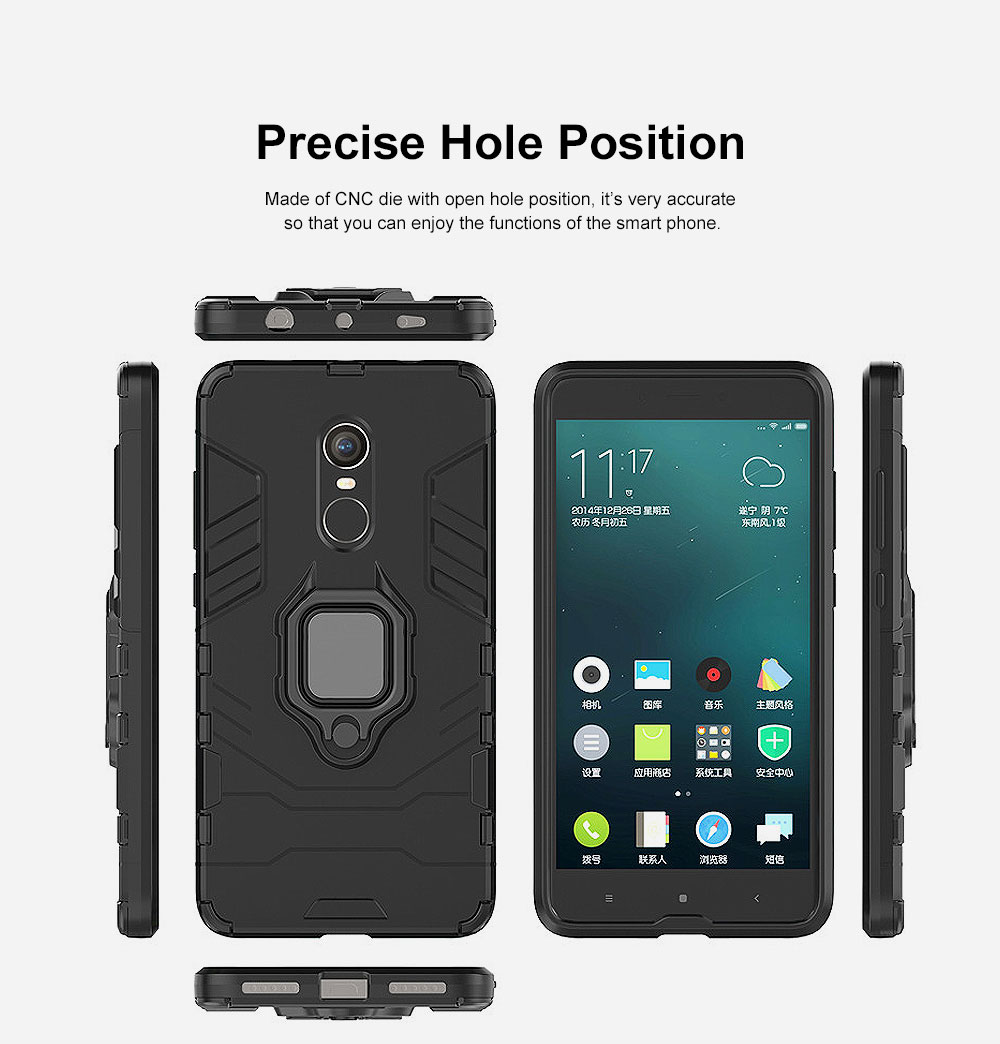 Phone Case With Ring Grip, Anti-Fall Smart Phone Shell For XIAOMI 3