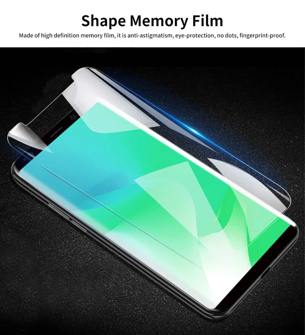 High Definition Phone Screen Protector, TPU Soft Full Curve Protection Case for iPhone, Samsung 3
