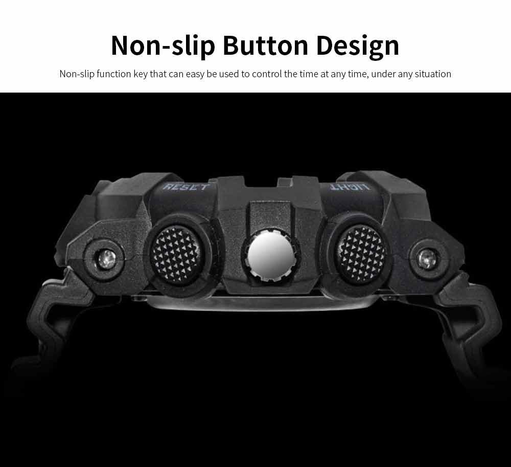 Outdoor Sports Watch, Multi-function Electronic Water Resistant Digital Quartz Wrist Watch 3