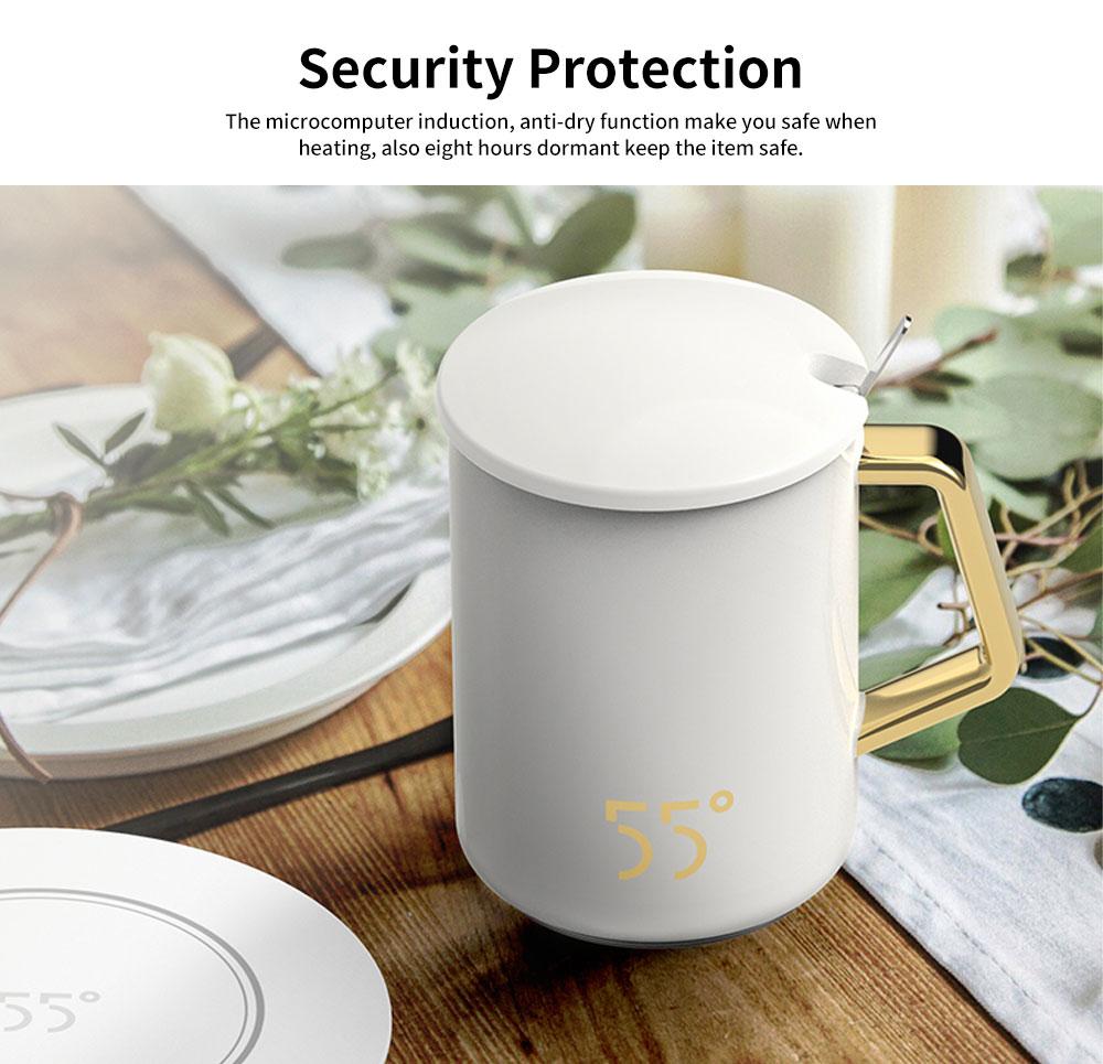 55 Degree Thermostatic Mug Heating Warmer for Hot Milk, Warm Tea, Warm Coffee, Warm Water 3