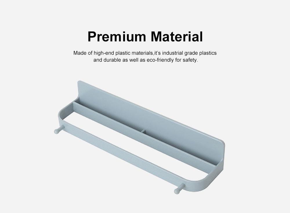 Wall-mounted Shoe Rack, Multifunctional Non-perforated Paste Hanging Rack 1