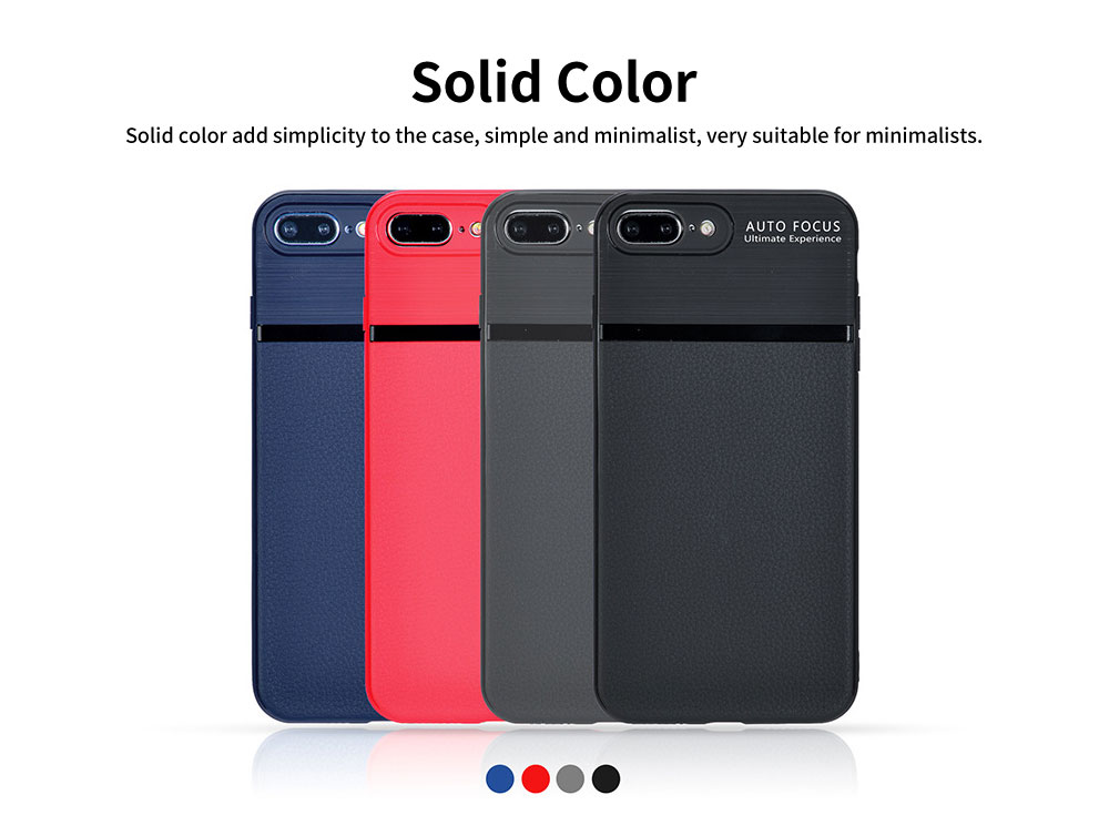 Solid Color Phone Case for OPPO, Samsung, vivo, xiao mi, Soft Comfortable Shockproof Case with Full-body Protection 1