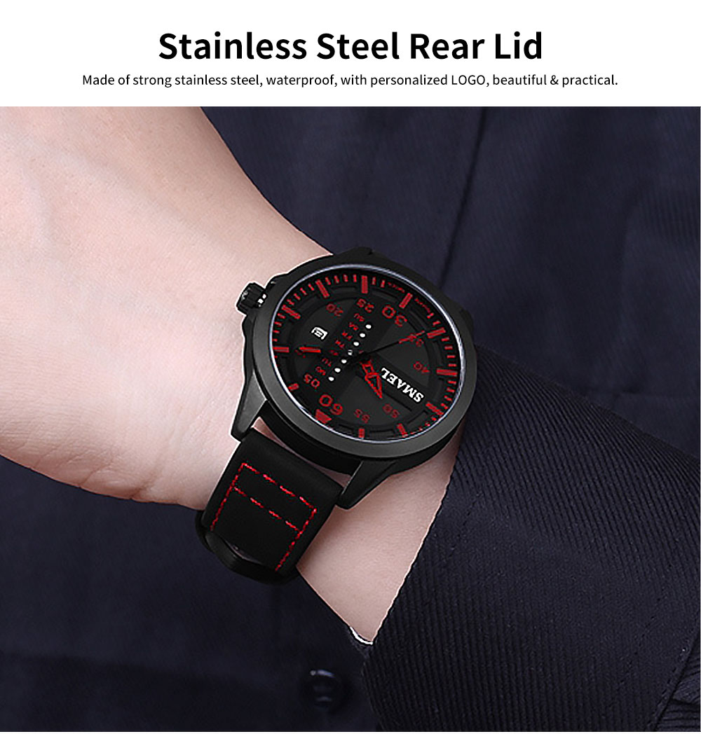 Men's Multifunctional Sport Watch, Fashionable Quartz Watch for Outdoor Use 4