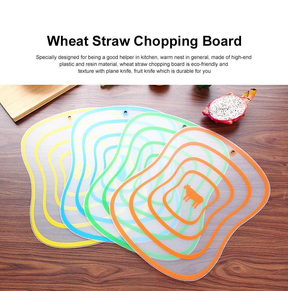 Baby Food Cutting Board, Plastic Cutting Boards For Cutting Vegetables, Fruit 0