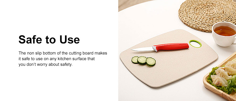 Biodegradable Eco- friendly Cutting Board, Wheat Straw Chopping Board for Cutting Vegetables, Fruits 4
