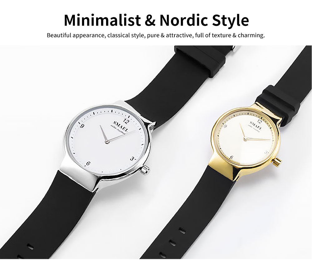 Best Women's Casual Watches 2019 New Korean Style Quartz Watch With Silicone Strap 1