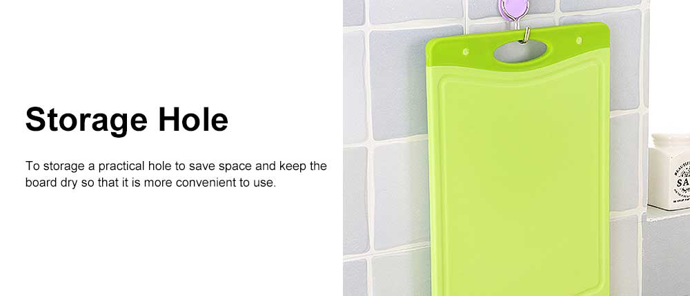 Antibacterial & Mould-proof Cutting Board, Baby Food Board, Fruit Cutting Kitchen Panel 4
