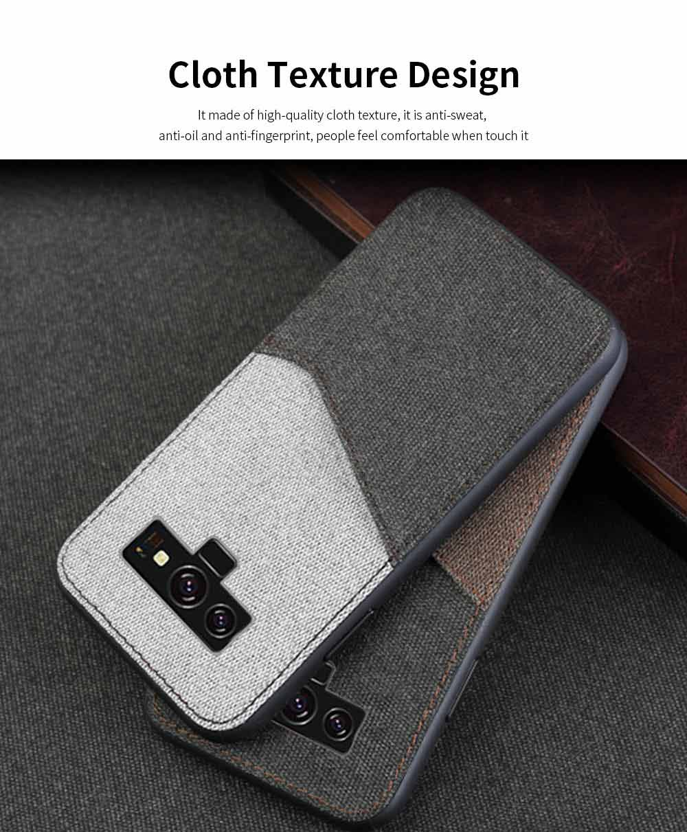 For Samsung Galaxy Note 9 Protective Case, Custom Shockproof Anti-fall Cloth Phone Shell Cover 2