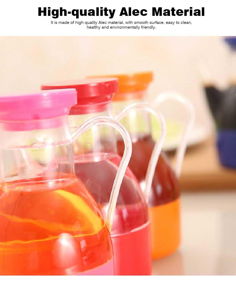Acrylic Small Oil Pot, Leak-proof Color Oil Pot for Putting Soy, Sauce, Sesame Oil 7
