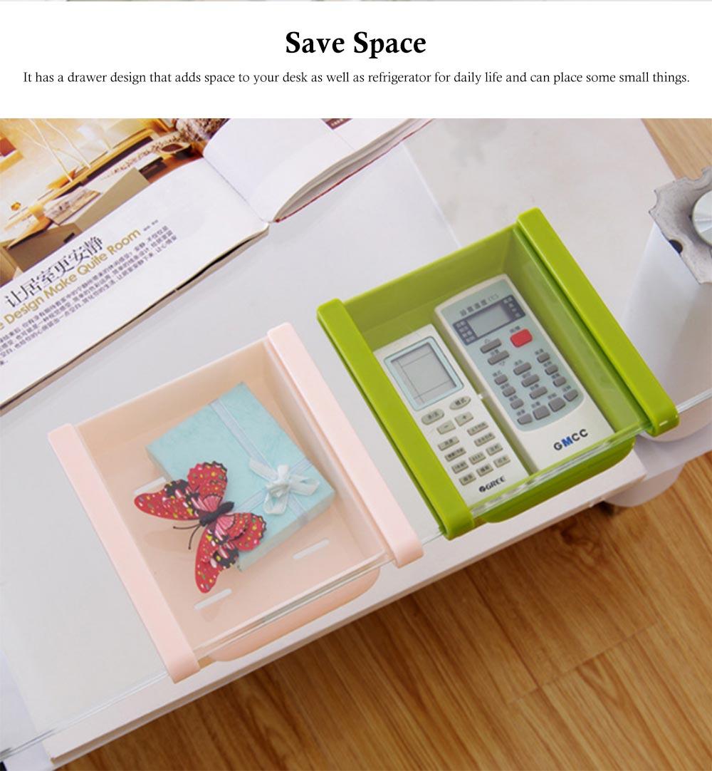 Slide Design Refrigerator Food Crisper, Commodity Shelf, Drawer Type PP Storage Box 3