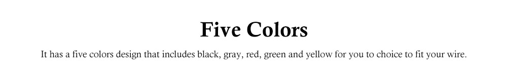 Releasable Nylon Cable Ties with Velcro Cloth Design, Self-Locking Nylon Cable Clip Organizer, 5 Colors, 40 Pcs 2