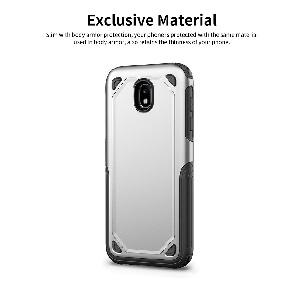Innovative Armor Phone Case, Two-in One Phone Protection Cover Shatterproof for Samsung, iPhone 7