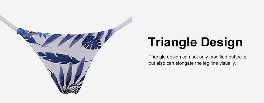 Triangle Bikinis Swimwear, Western Style Women Swimsuit with Environment Friendly Nylon Fabric 3