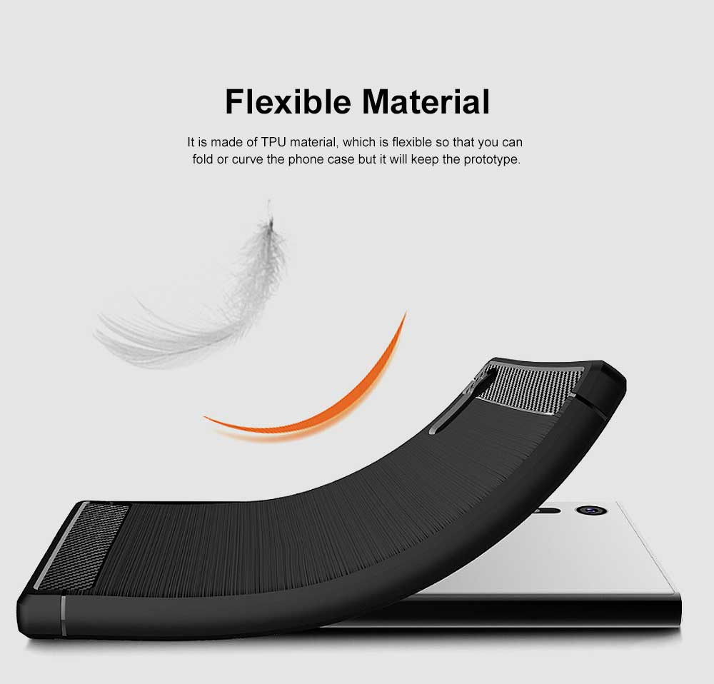 All-inclusive Phone Case for Snoy XZ, Anti Fingerprint Snoy A1 Premium Case with TPU and Carbon Fiber 5