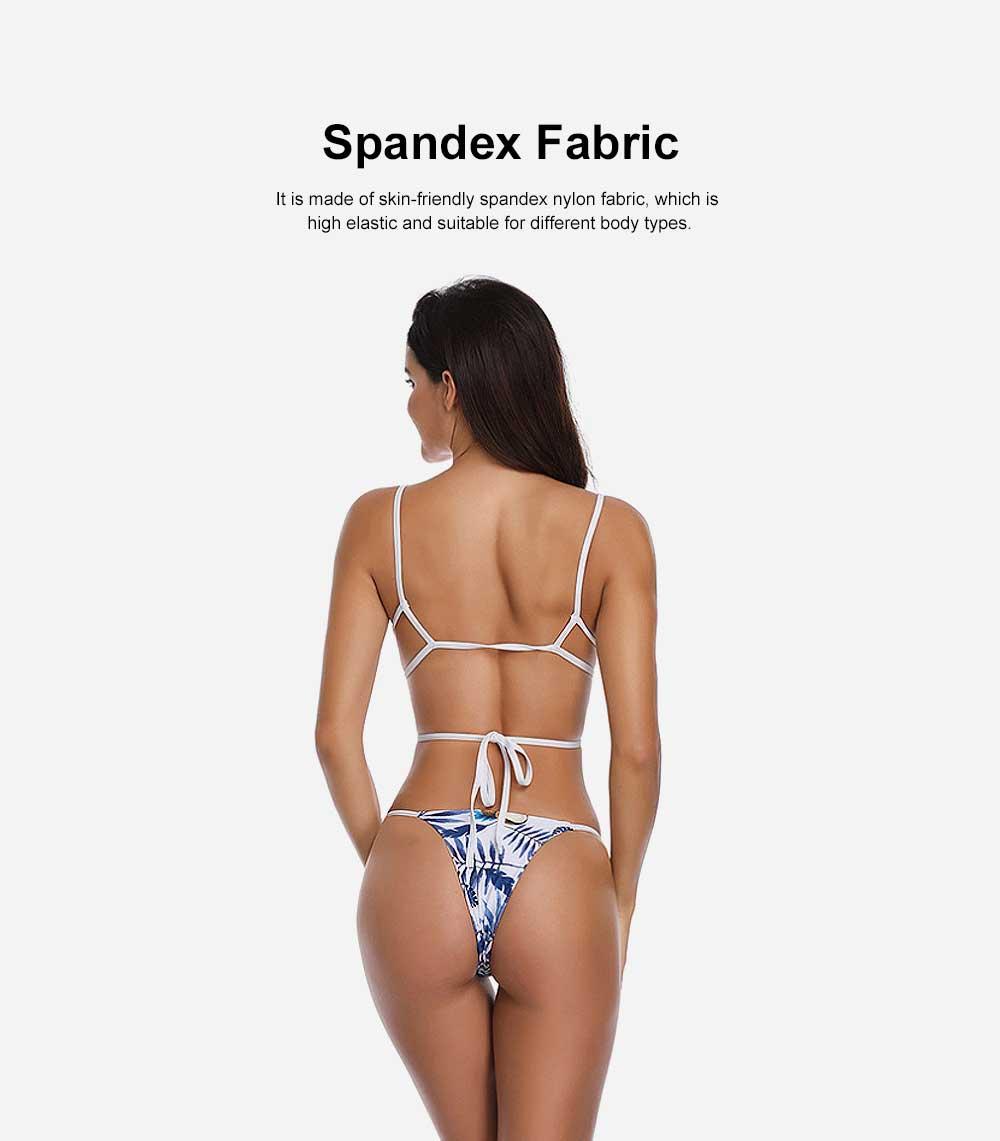 Triangle Bikinis Swimwear, Western Style Women Swimsuit with Environment Friendly Nylon Fabric 5