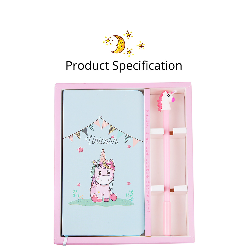 Cute Cartoon Notepads with Pen, Fancy Notepads & Pens Set Gifts for Girls 10